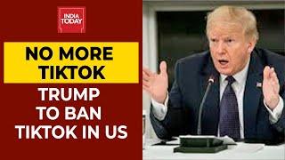 TikTok Ban: President Donald Trump Says US Will Ban Chinese App TikTok| Breaking News