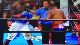 ボクシング コーネリアス・バンドレイジVSジャーマル・チャーロ