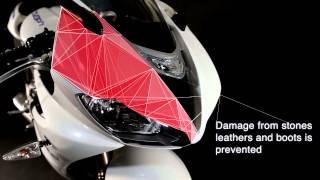 3M VentureShield motorbike paint protection film