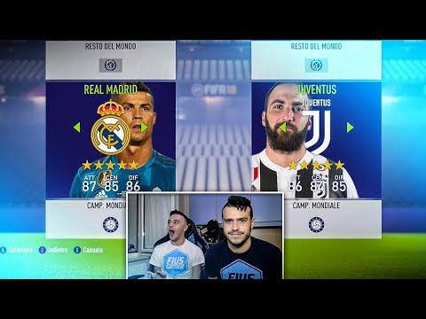 FIUS vs MIRKO SU FIFA 18!!! SFIDA EPICA TRA FRATELLI CHE LITIGANO