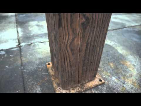 Green Rider 3D Cement Clone Wood / Tree Trunk