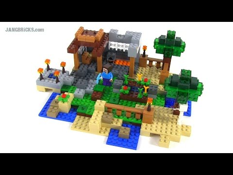 Lego minecraft crafting box build 2 of 8 set 21116 for Crafting and building 2