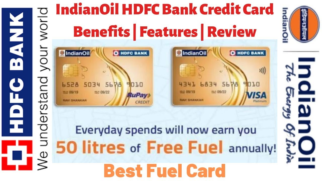 Indian Oil Hdfc Bank Credit Card