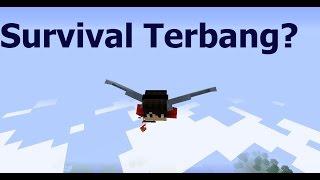 Cara Terbang di Minecraft Survival (No Mods)