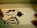 HOW TO DRAW JOE COOL SNOOPY!