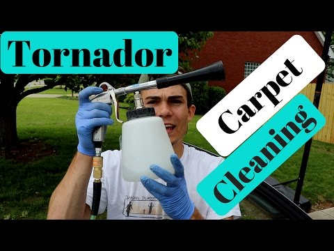 Tornador Carpet Cleaning: How To Shampoo Carpets with the Tornador