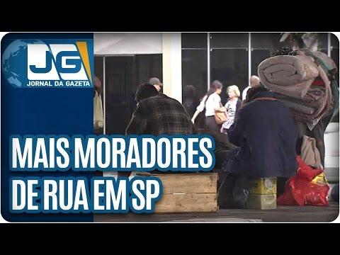 Cada vez mais moradores de rua em São Paulo