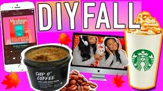 FALL 2015!!! DIY Coffee Scrub + Ways to make it Feel like Fall!