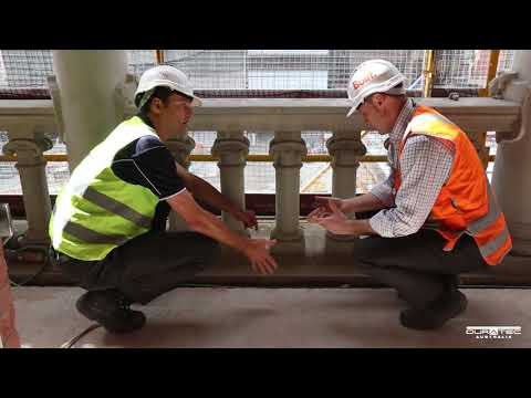 Duratec Australia Old Treasury Building Balcony Remediation Project