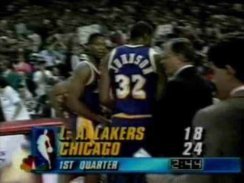1991 NBA Finals: Lakers at Bulls, Gm 2 part 3/12