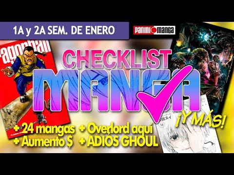 checklist-manga:-primera-y-segunda-semana-de-enero-¡aumento-de-precio!-+-ganador-quintillizas