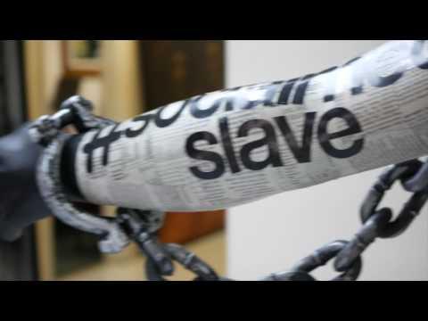SOCIAL MEDIA SLAVE ArtExpo NewYork 2017 #Installation
