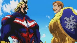 Escanor vs Allmight