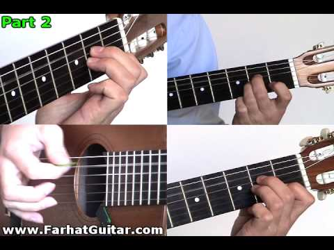 Is There Anybody Out There ? Pink Floyd Guitar 6 Full Song Www.FarhatGuitar.com
