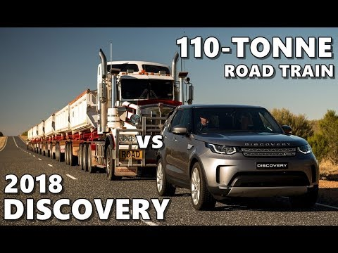 2018 land rover truck. unique 2018 2018 land rover discovery tows australian road train 110 tonnes on land rover truck