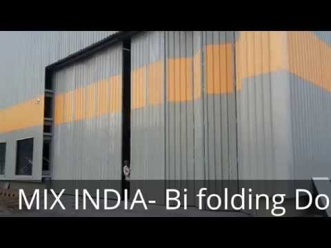 INDUSTRIAL BI-FOLDING DOORS