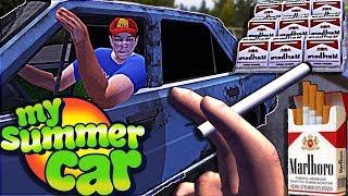 My Summer Car Türkçe // CUGARA VAR, HAP VAR ,STRES VAR#52