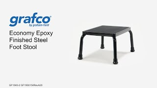 Economy Epoxy Finished Steel Foot Stool