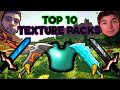 TOP 10 MINECRAFT PVP TEXTURE PACKS! FPS BOOST/NO LAG/MAX FPS 1.7.X/1.8.X   2018