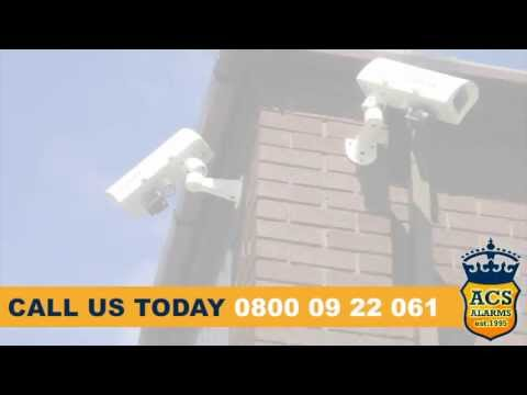 CCTV and intruder alarm systems, installed, repaired and maintained by ACS Alarms