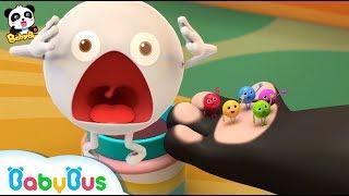 اغنية خمس قطع حلوى ملونه | اغاني اطفال بالعربية |اغاني الطعام  | اغاني الالوان | بيبي باص  | Babybus