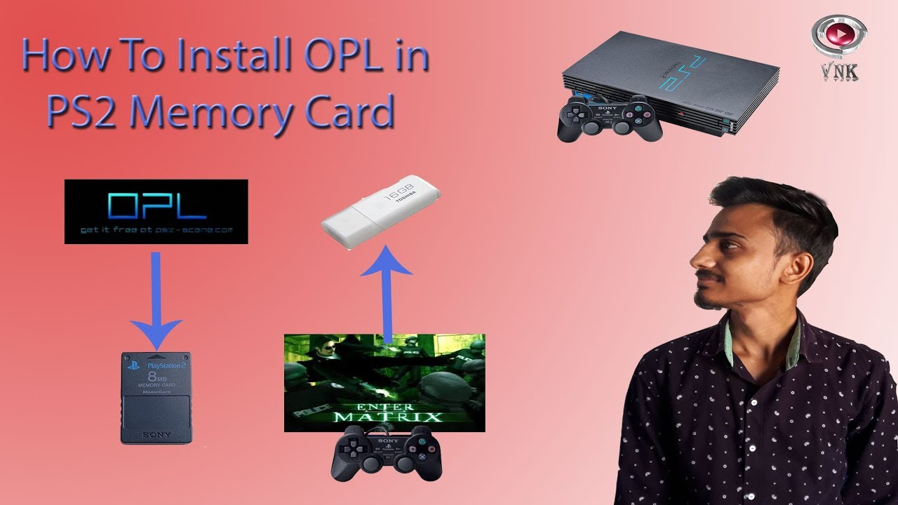How to install OPL in memory card and Play PS2 Game using Pendrive