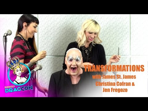 James St. James w/ Christina Cofran and Jen Fregozo: Transformations at RuPaul's DragCon 2015