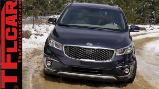 2015 KIA Sedona Snowy On-Road Review: Buy it!
