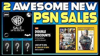 2 AWESOME NEW PSN STORE SALES - PS4 GAME DEALS!