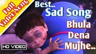 Doraemon Sad Song 😟😥 ( Bhula Dena Mujhe )