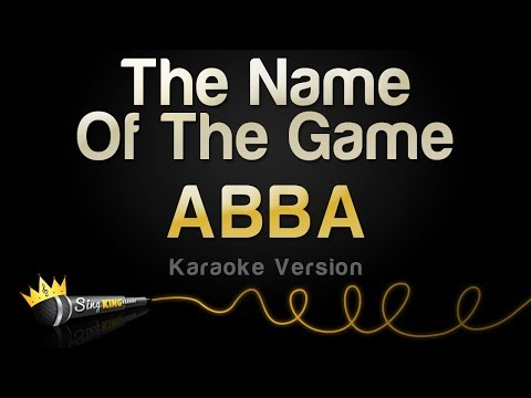 ABBA - The Name Of The Game (Karaoke Version)