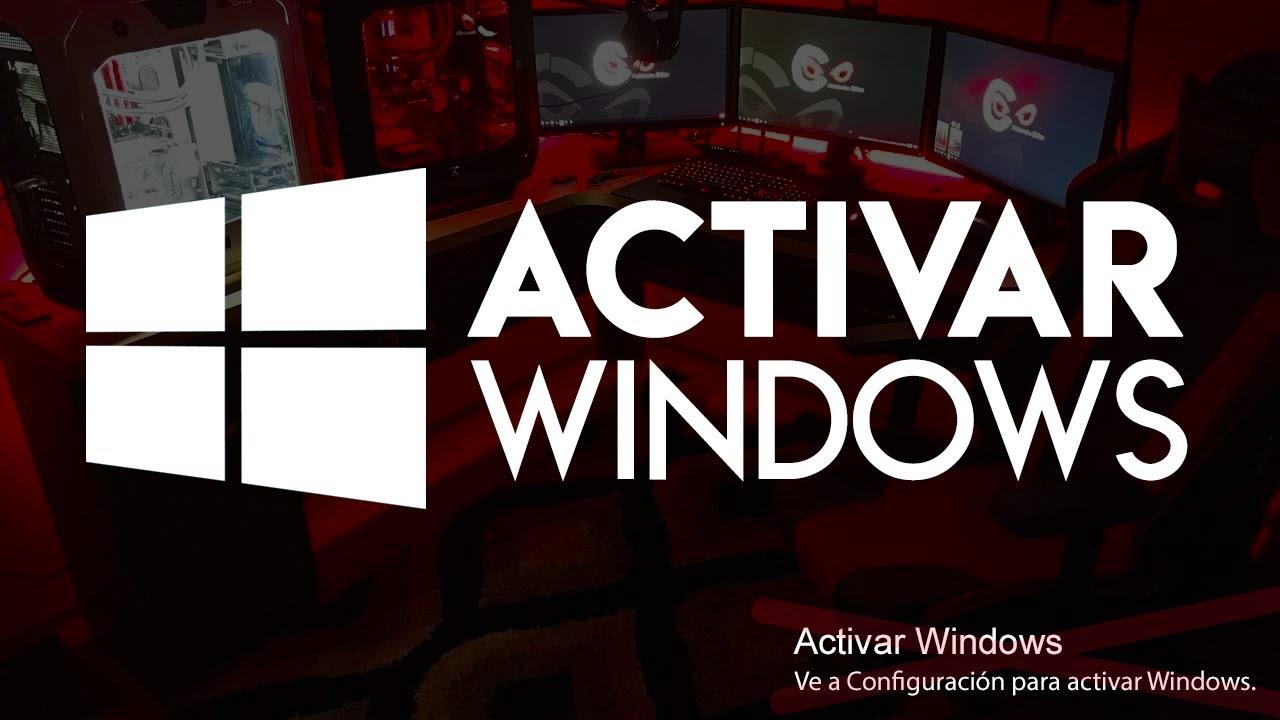 ACTIVAR WINDOWS  *EN 3 PASOS* ( CUALQUIER V…