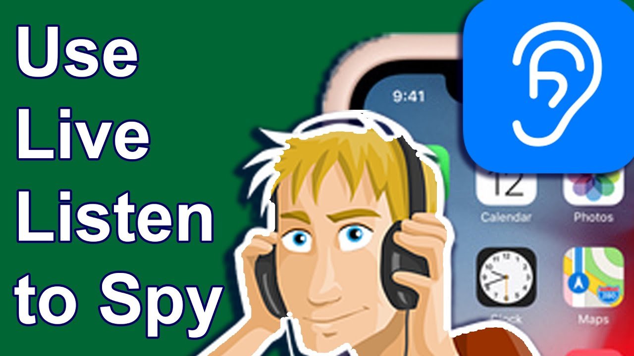 How to use Live Listen without AirPods to spy   YouTube
