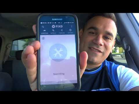 FIXD Review Car Diagnostic Tool Unboxed Used APP Part 1 2017