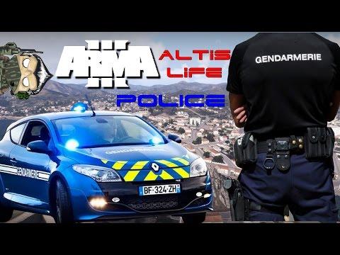 Altis life Serveur AltisLife France Police #10 Vos papiers svp !