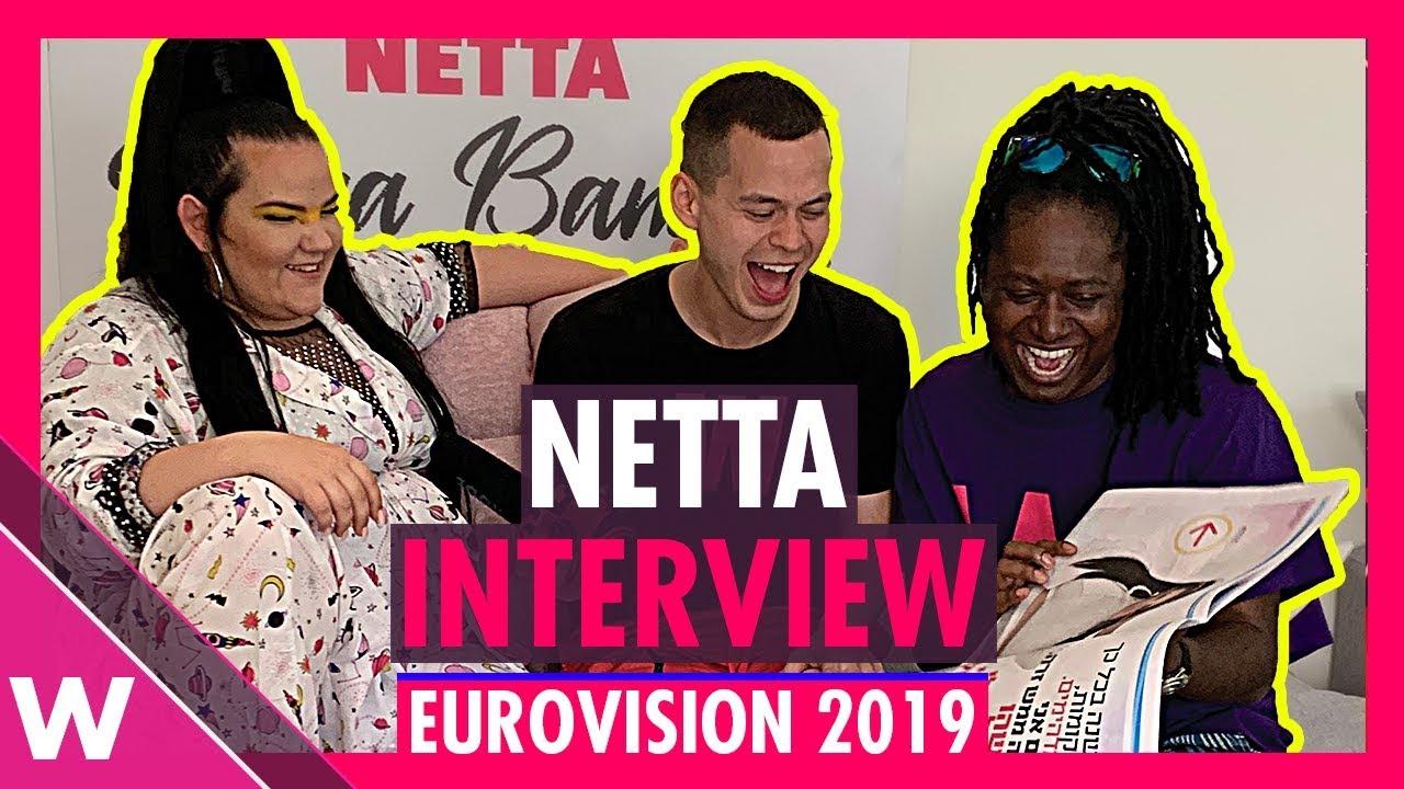 Netta Banana! Reigning Eurovision winner speaks about new