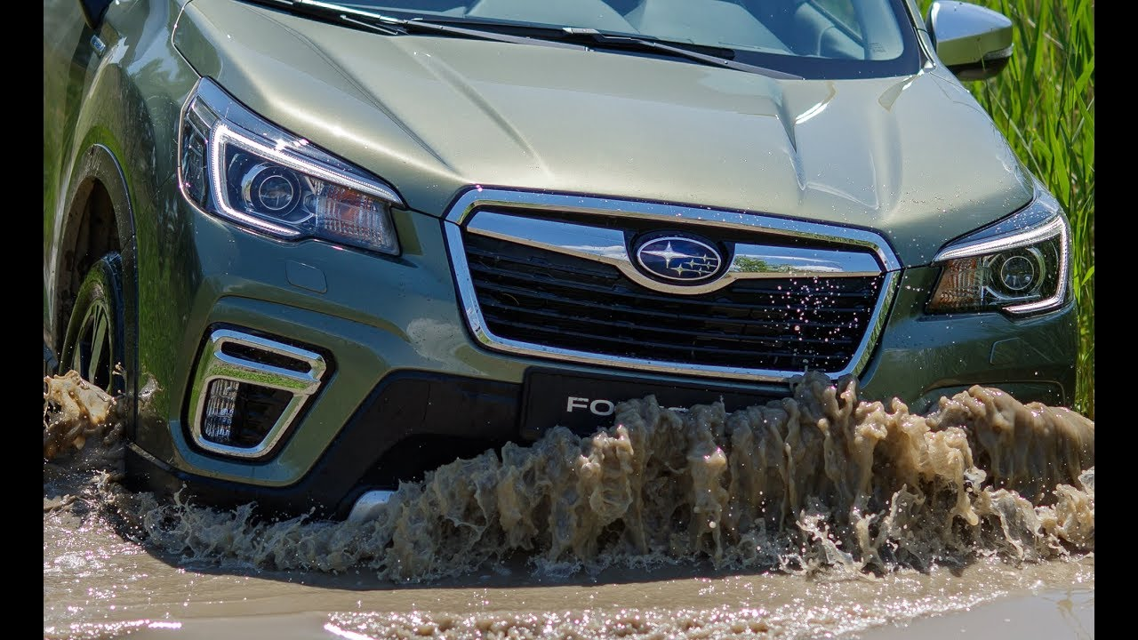 2020 Subaru Forester e-Boxer – Off-road Test Drive