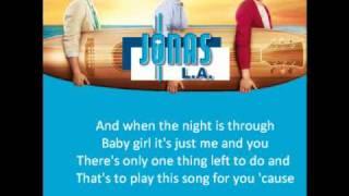 Jonas Brothers Chillin 39 In The Summertime Lyrics.mp3