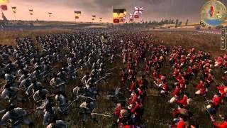 Empire Total War HUGE battle 30,000 men