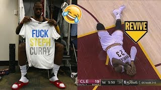 NEW LeBron James FUNNY MOMENTS 2017 PART