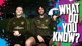 CAN YOU NAME PLAYERS WITH THE MOST ASSISTS? | Mesut Ozil v Mo Elneny | What do you know?