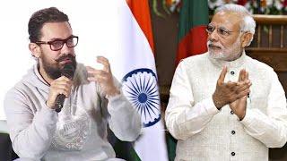 Aamir Khan's BEST Reply On Narendra Modi's Demonitization Ban Of 500 & 1000 Rupee Affecting Dangal