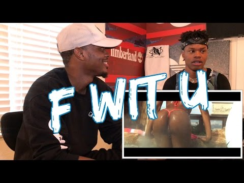 Kid Ink - F With U (Official Video) ft. Ty Dolla $ign - REACTION