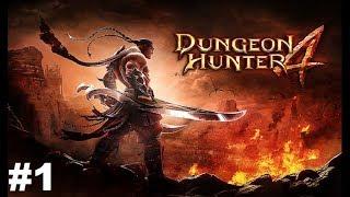 Dungeon Hunter 4 #1 Gameplay Прохождение Android/iOS Обзор и начало игры