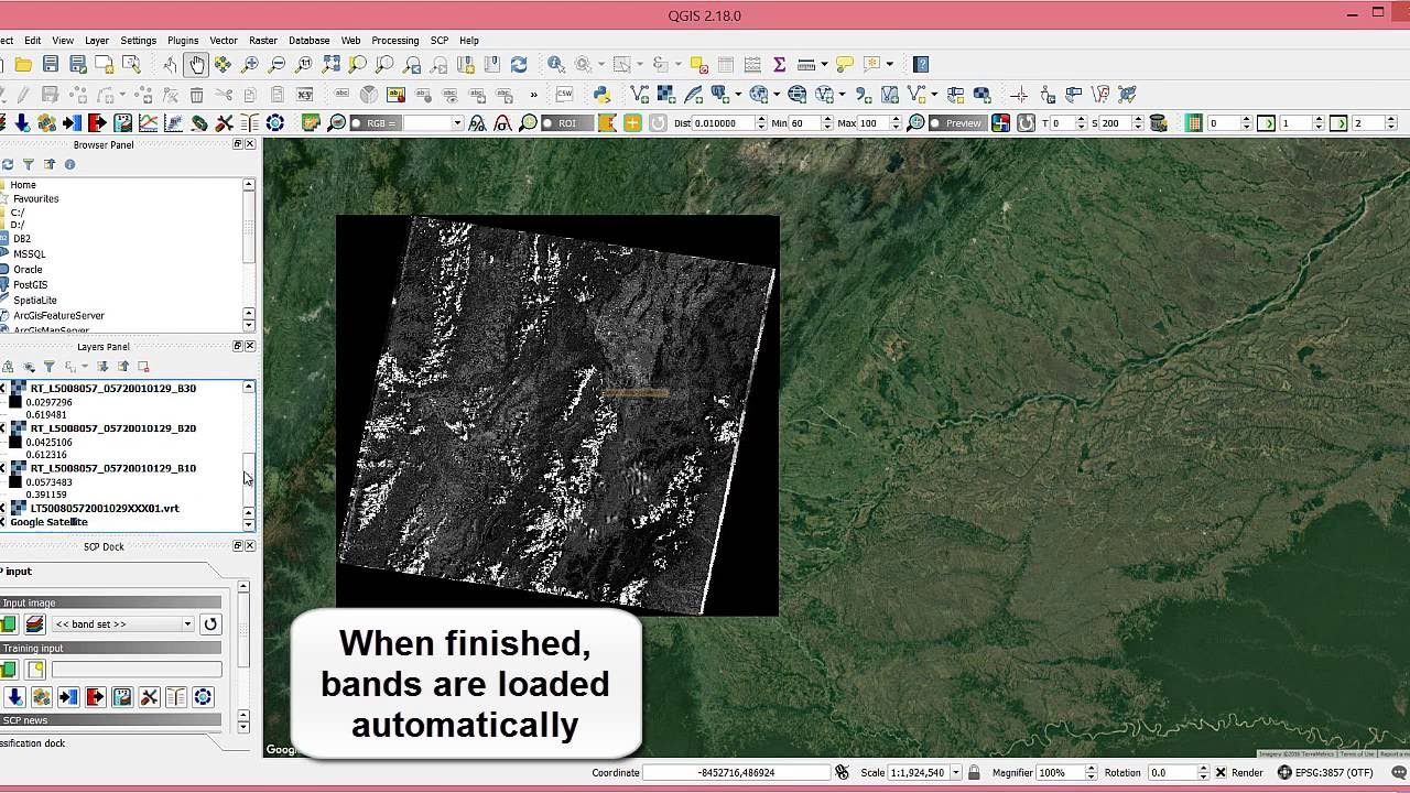 Fridays of qgis how to automatically download and preprocess fridays of qgis how to automatically download and preprocess landsat sentinel 2 and aster imagery gumiabroncs Images