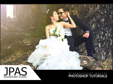 Photoshop CC - สอนแต่งภาพ สร้าง Soft Light และวิธีปรับโทนสี by JackiePixart