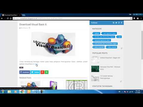 Cara Download Visual Basic 6