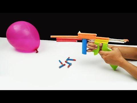 DIY Paper Gun! - How to Make a Paper Super Gun - Life Hacks for Gun