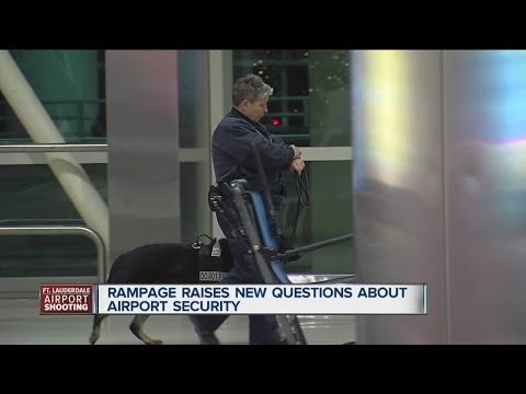 Ft. Lauderdale airport shooting raises questions about security