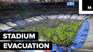 Paris Attacks: Thousands Sing National Anthem During Stadium Evacuation